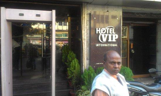Hotel VIP Continental: main entrance