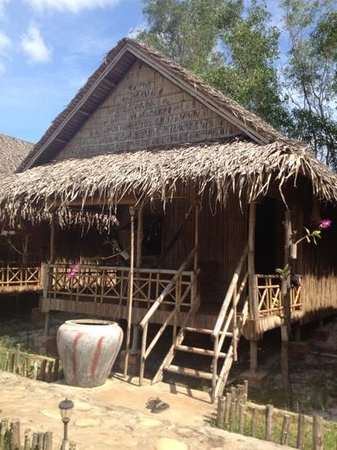 Bamboo bungalow at Otres Orchid
