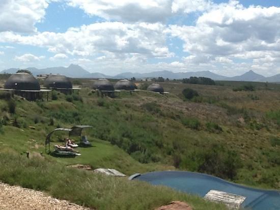Gondwana Game Reserve: Blick von der Lodge