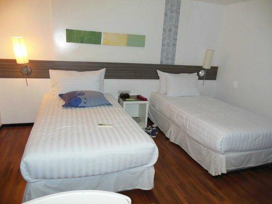 The Mini R Ratchada: chambre double à 2 lits
