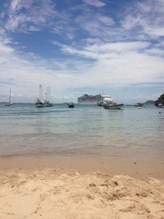 Pousada Corsario Buzios: praia em frente a pousada! praia dos ossos