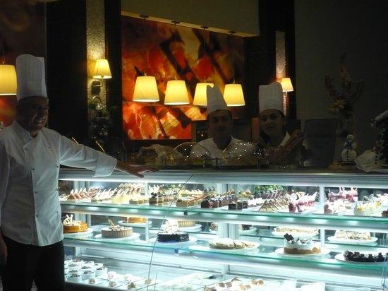 Voyage Belek Golf & Spa: Bar à pâtisseries