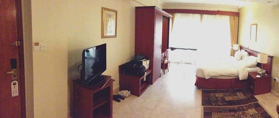 Savoy Central Hotel Apartments : Studio Room (kitchenette not shown)