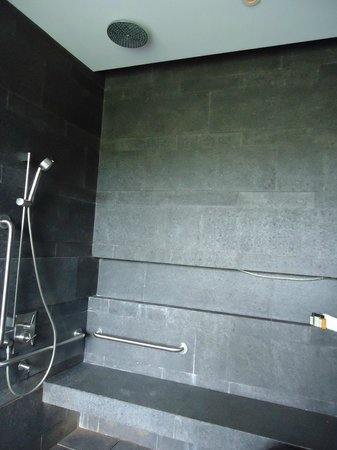 Capella Singapore: Rainshower Bath