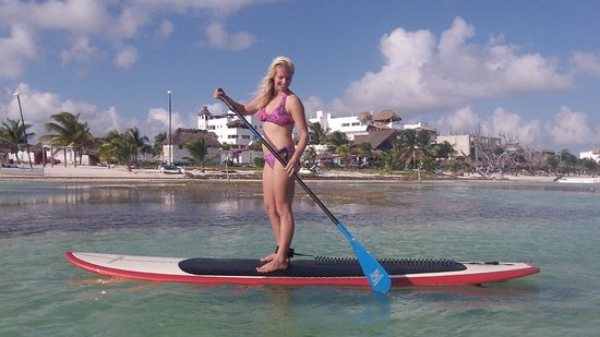 UnderToe Mexico SUP Adventures : Paddle the Caribbean in Mahahual