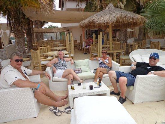 Palm Beach Restaurant Sal Cabo Verde Santa Maria Omd Men Om Restauranger Tripadvisor