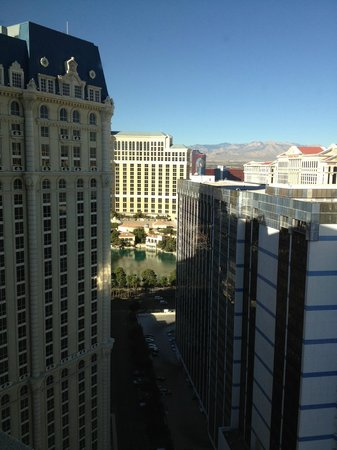 Paris Las Vegas: view