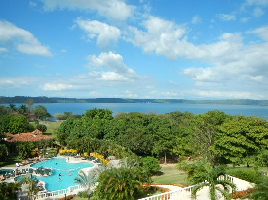 Occidental Papagayo - Adults only: View from the Royal Club Lobby Bar