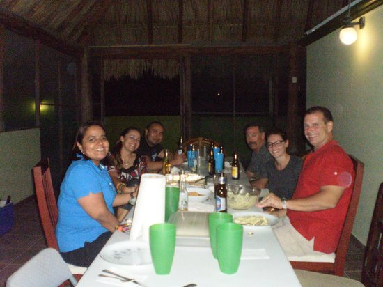 Los Alcatraces: Christmas Dinner at Los Alcatraces Cozumel
