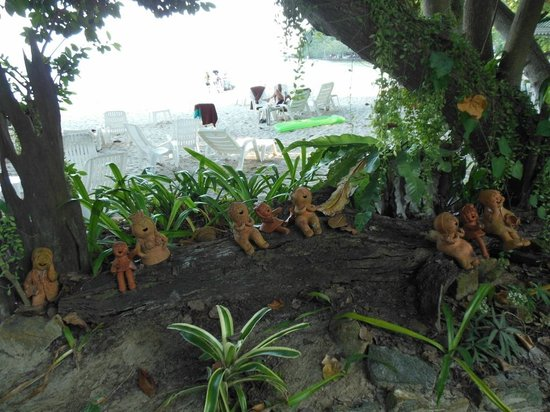 Vongdeuan Resort: les petits bonhommes