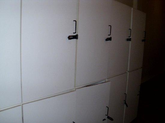 Downtown BA Hostel: Lockers