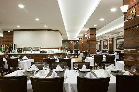Atalay Hotel: restaurant