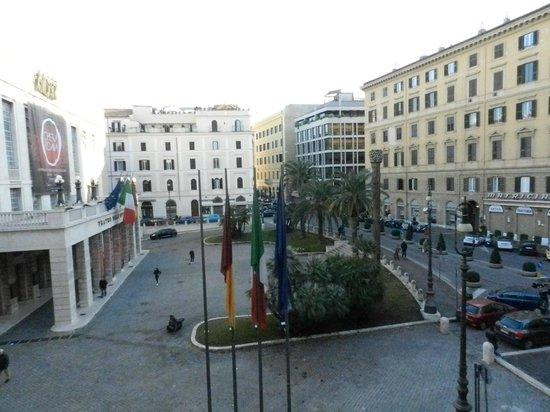 Lirico Hotel: Vistas desde la habitación