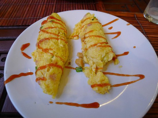 Seeka Boutique Resort: Omelet