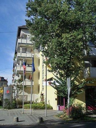 AZIMUT Hotel Nuremberg: Aussenansicht