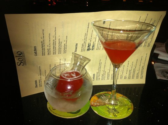 Solo American Bistro : Ruby Red Martini -- Delicious