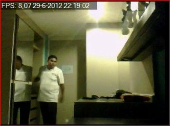 I Dee Hotel: the guy who was here caught on video in my room