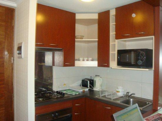 MG Apartments Downtown: Cozinha