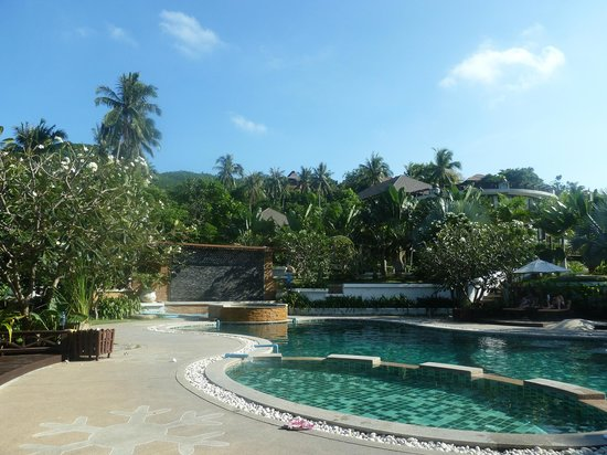 Ban's Diving Resort: der obere Pool