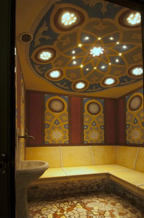 Hotel Belfiore: BAGNO TURCO