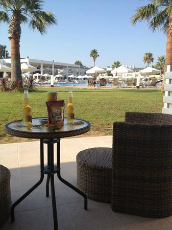 Sunprime Ayia Napa Suites: all rooms have the same, nice view