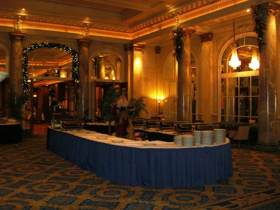 The Fairmont Palliser: Buffet area