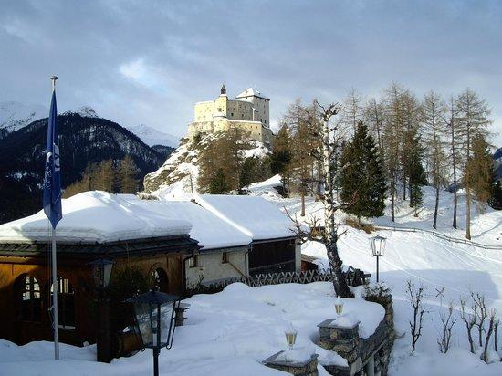 Schlosshotel Chaste : Vistas desde la Suite