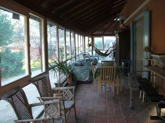 Sette Fontane : veranda