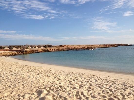 Al Hadd, Oman: la spiaggia dell'hotel