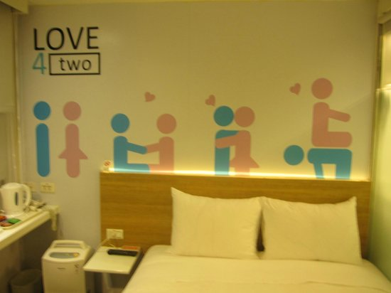 CityInn Hotel - Taipei Station Branch I: Wall of a room