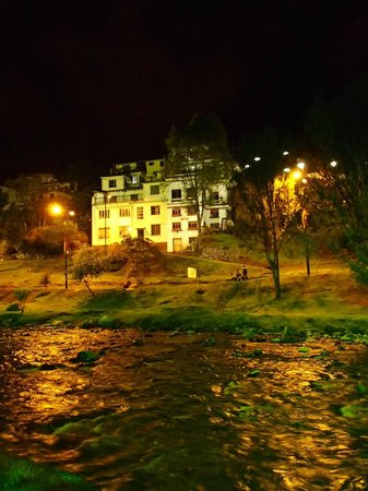 Hostal Casa del Rio: A view from across the river