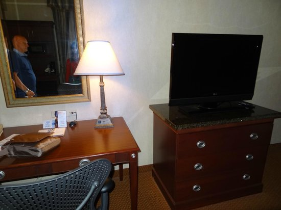Hilton Garden Inn Indianapolis Downtown: Tv al plasma