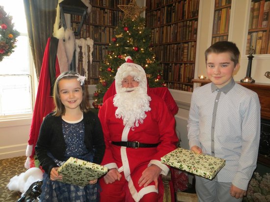 Banchory Lodge: meeting santa