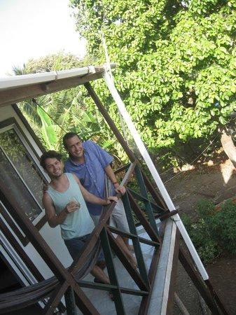 Posada Nativa Miss Trinie: El Balcón del apartamento