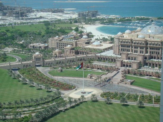 Jumeirah at Etihad Towers : View from the upper floor