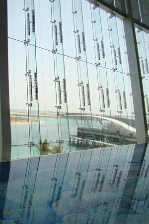 Jumeirah at Etihad Towers : View from the lobby