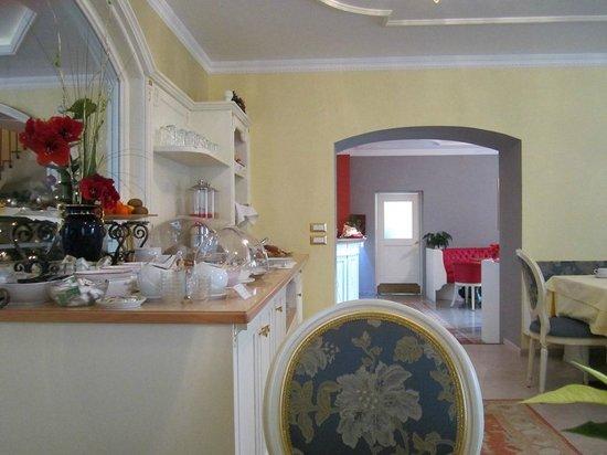 Hotel Windsor: sala colazione
