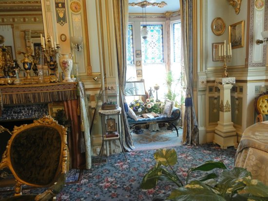 The Frederick Stegmaier Mansion: the Ladies' Parlor