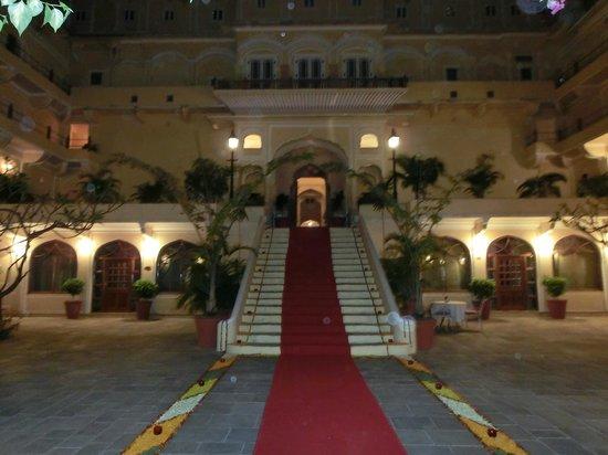 Samode Palace: Eingang zum Palace