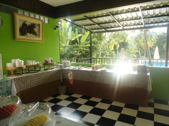 Supsangdao Resort: Buffet du petit déjeuner
