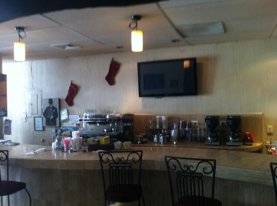 El Coffee Cozumel: inside