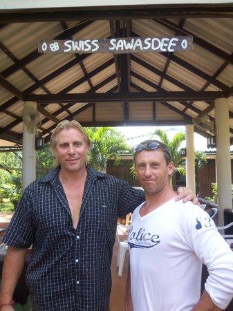 Ko Mak, Thailand: The Boss Markus and Guido Kessler