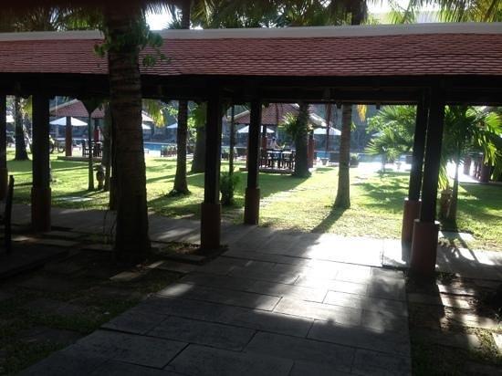 Royal Angkor Resort & Spa: every morning breakfast