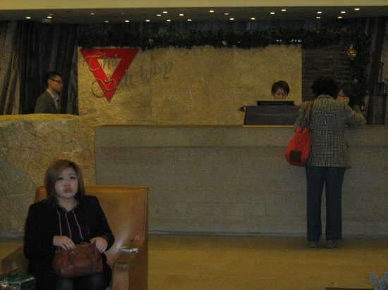 The Salisbury-YMCA of Hong Kong: Registration Desk in the Lobby