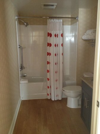 TownePlace Suites Arundel Mills BWI Airport: Spacious bathroom