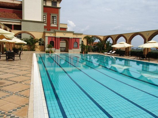 Lake Victoria Serena Golf Resort & Spa: the pool