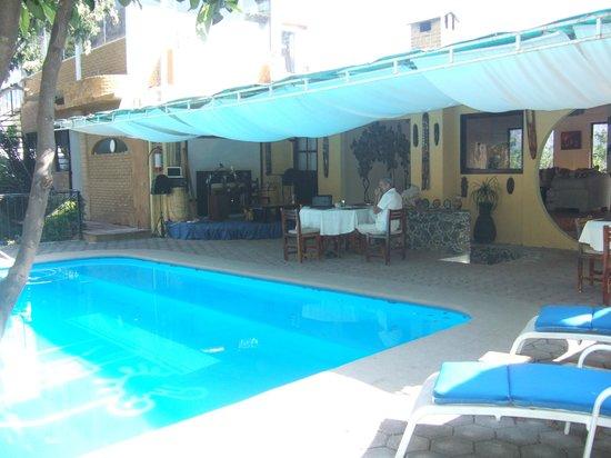 Hotel Teocalli: breakfast area