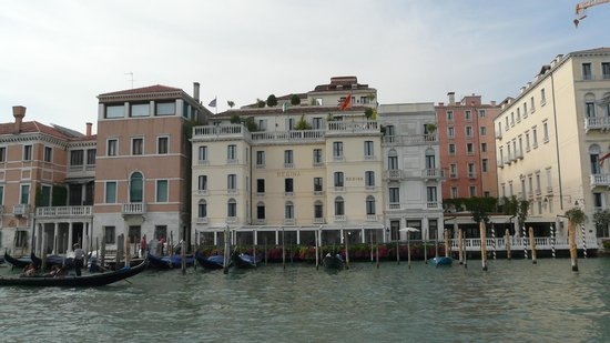 The Westin Europa & Regina, Venice: hotel from the water
