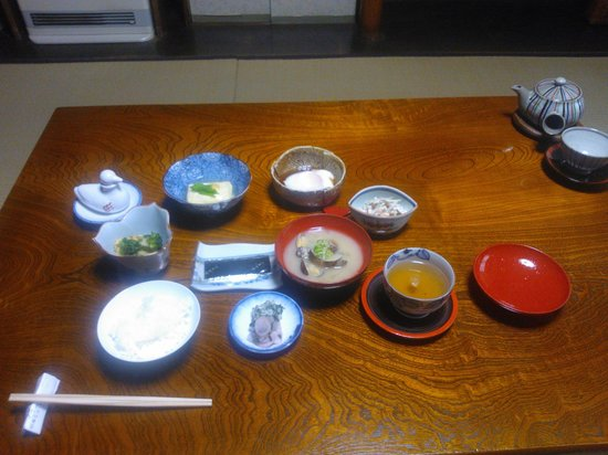 Traditional Kyoto Inn serving Kyoto cuisine IZUYASU: Breakfast
