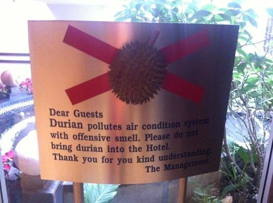 Triple Two Silom: No durian allowed!